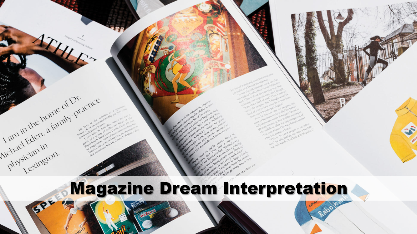 Magazine Dream Interpretation