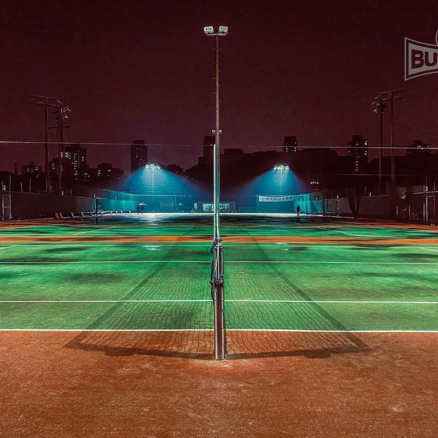 To win and lose the game of tennis in your dream